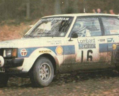 Henri Toivonen in fuga al RAC 1980