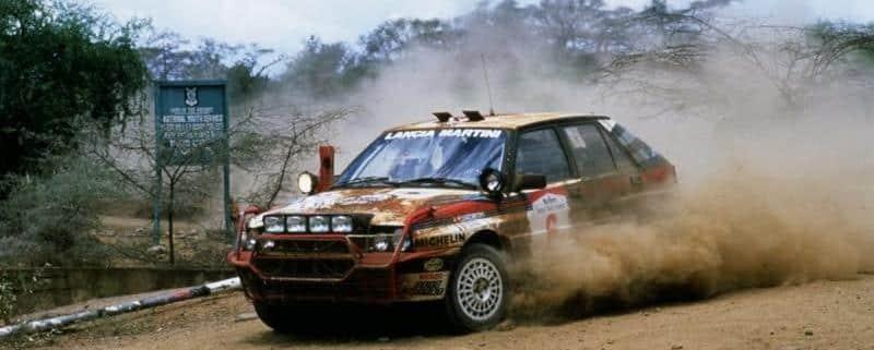 La Lancia Delta HF Evoluzione al Safari Rally