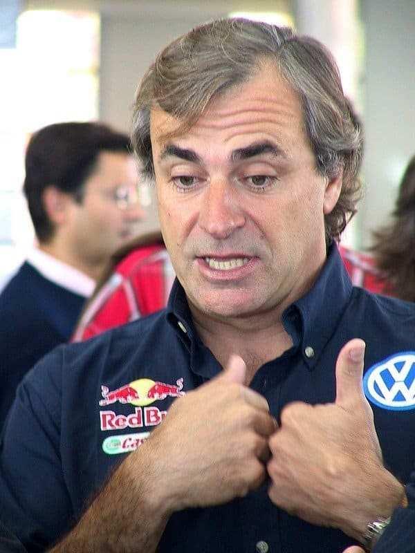 Carlos Sainz in veste di ds Volkswagen