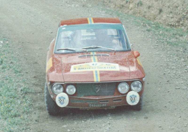 Sandro Munari e Mario Mannucci al Rally Elba