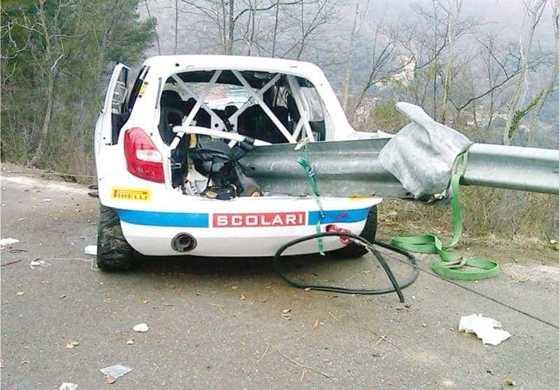 Incidente Robert Kubica Liguria