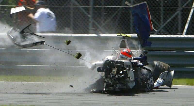 Incidente Robert Kubica in Formula 1
