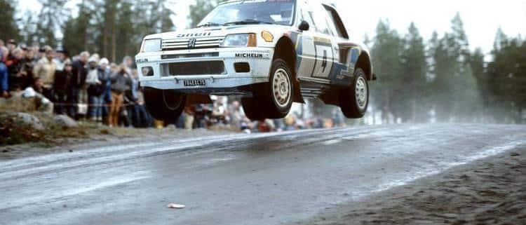 La Peugeot 205 T16 al 1000 Laghi 1984
