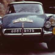 La Citroen DS19 al Rally MonteCarlo