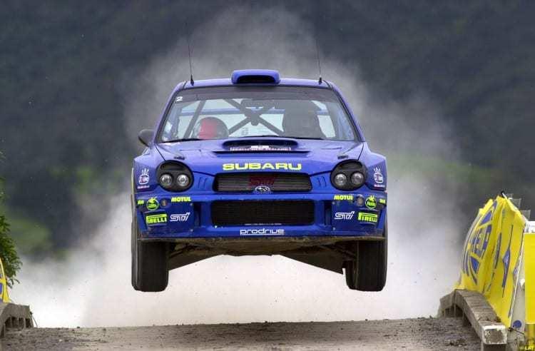 Richard Burns con la Subaru Impreza WRC