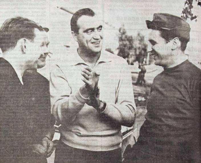 Rauno Aaltonen, Pauli Toivonen e Timo makine al Rally 1000 Laghi 1969