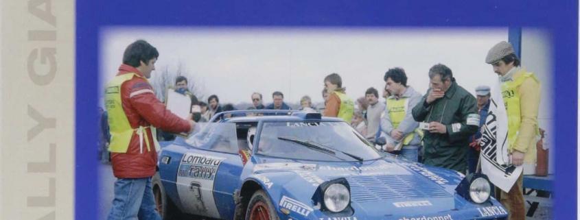 La copertina del libro di Graham Robson dedicato alla Lancia Stratos