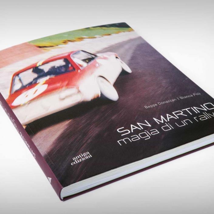 La copertina di San Martino, magia di un rallye di Beppe Donazzan