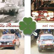 La copertina del libro di Biasioli dedicato all'avventura del Biscione nei rally