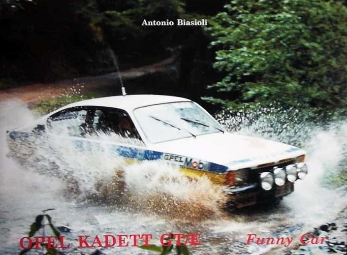 La copertina del libro sulla Kadett GT/E
