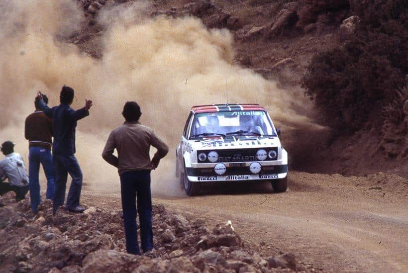 La Fiat 131 Abarth Rally Alitalia