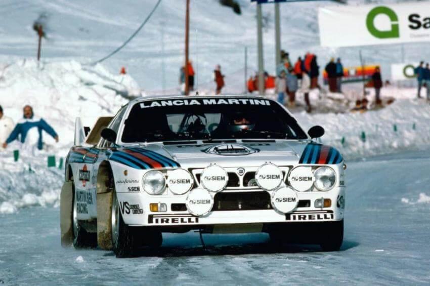 Henri Toivonen con la Lancia Rally 037