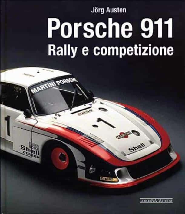 La copertina del volume dedicato a tutte le Porsche da competizione