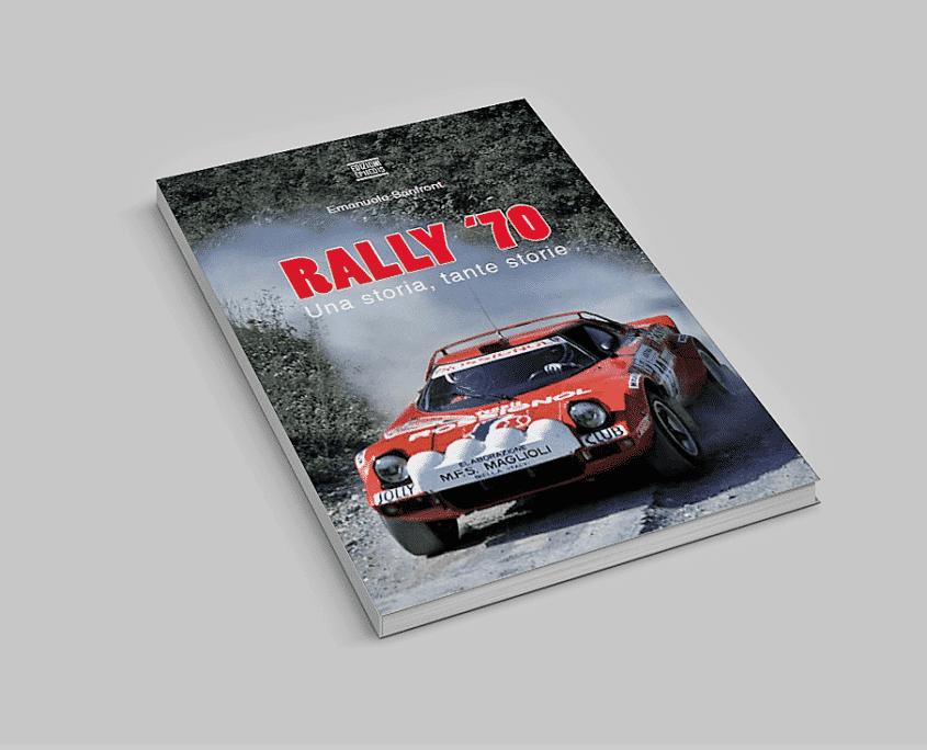 La copertina di uno dei volumi che compongono Rally '70: una storia tante storie