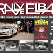 La copertina del libro dedicato al Rallye Elba
