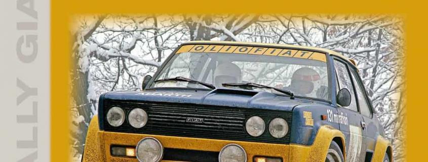 La copertina del libro Fiat 131 Abarth di Graham Robson