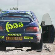 La Subaru Impreza 555, che ha scritto pagine bellissime della storia del WRC