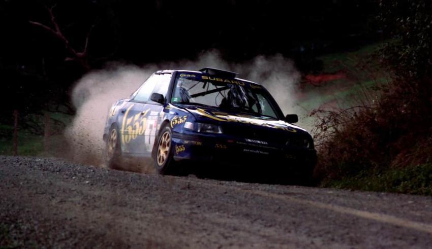 La Subaru Legacy RS Turbo 4WD Gruppo A di Colin McRae