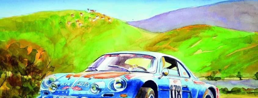 Alpine Renault A110 les bleues italiennes