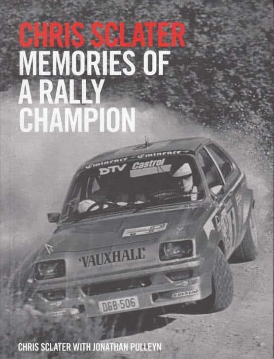 Chris Sclater, memorie di un campione di rally