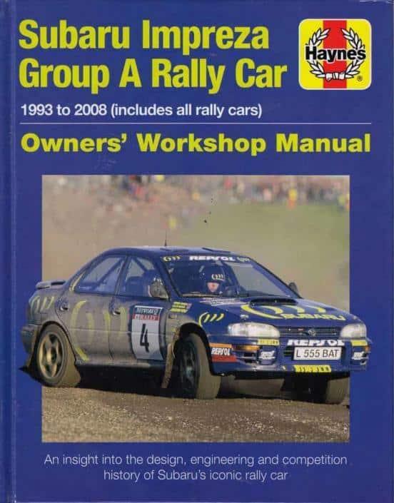 Subaru Impreza Group A Rally Car