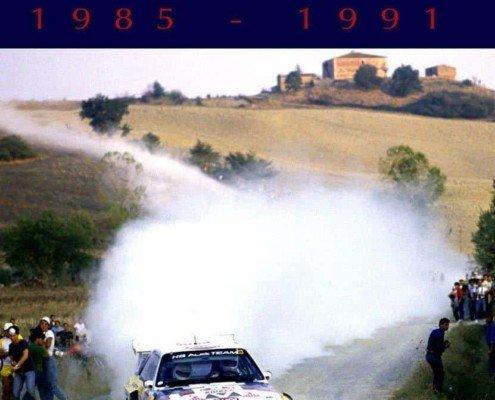 Il Rally di Sanremo dal 1985 al 1991