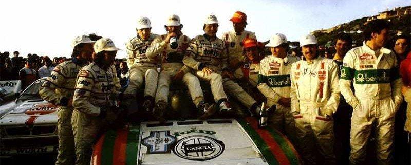 Miki Biasion, campione del mondo rally a caccia del limite