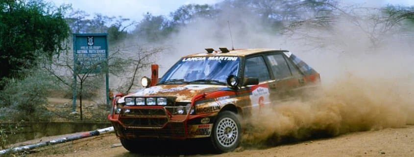 Lancia Delta HF Integrale in conformazione Safari Rally