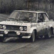 Markku Alén al Rally 1000 Laghi del 1978