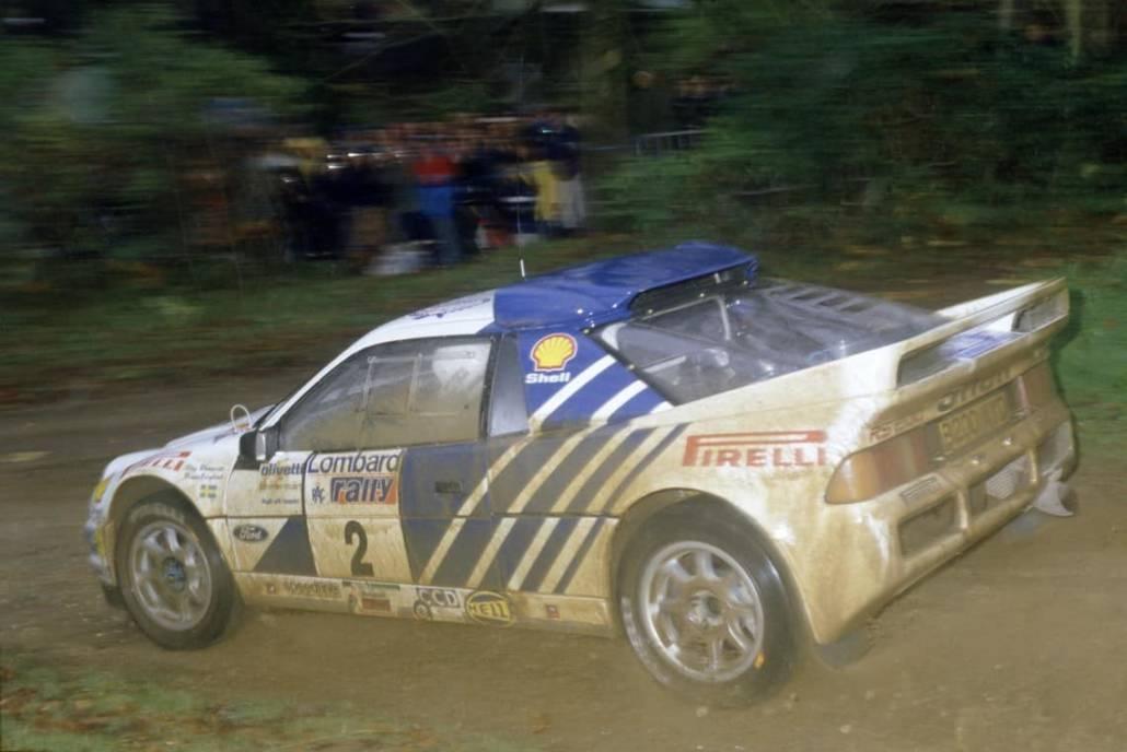 Per il 1987, Ford Motorsport aveva preparato una potente evoluzione della vettura