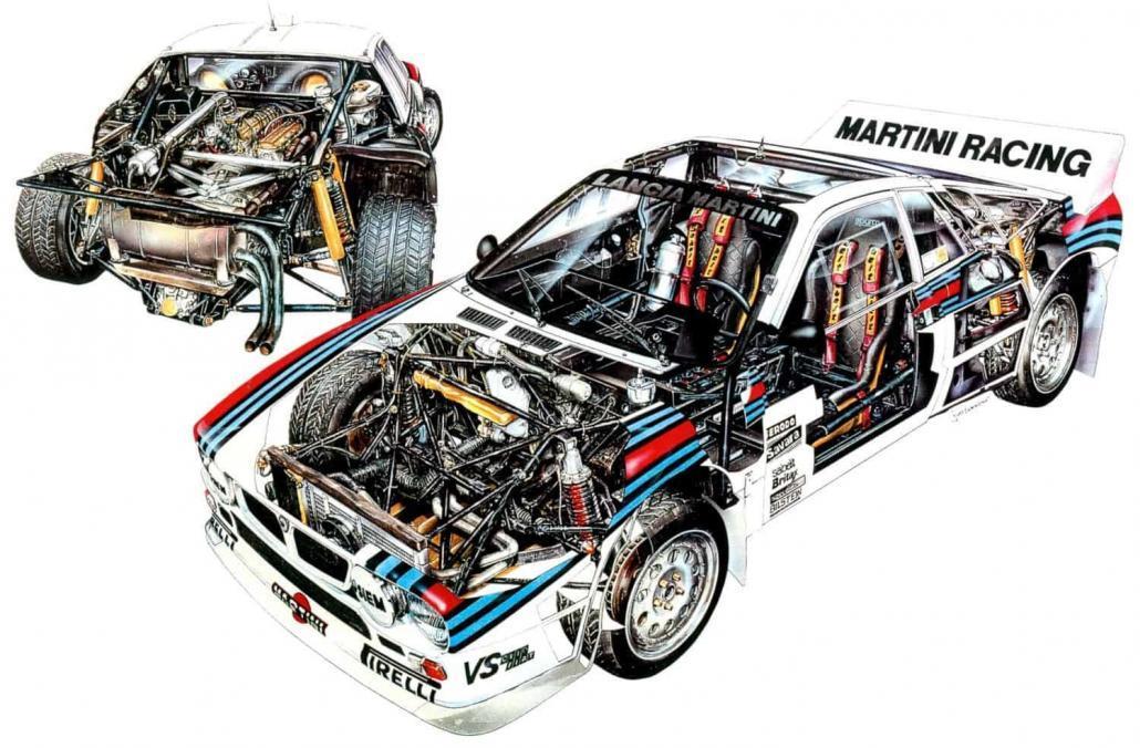 Il 14 dicembre 1981 Cesare Fiorio annunciava la nascita della Lancia Rally 037