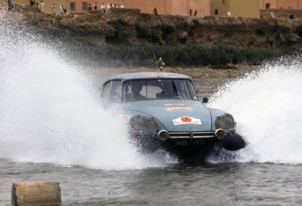 Deschazeaux-Plassard al Rally Marocco 1973 con la DS23