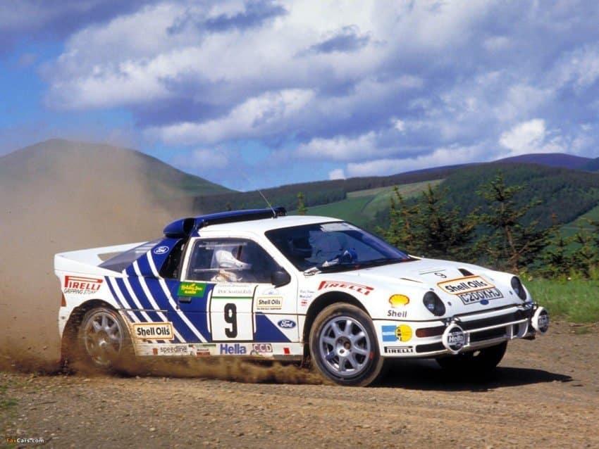 La Ford RS 200 fu una delle più sfortunate vetture Gruppo B