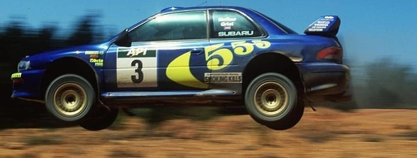 La Subaru Impreza è una delle vetture più importanti nella storia di Colin McRae