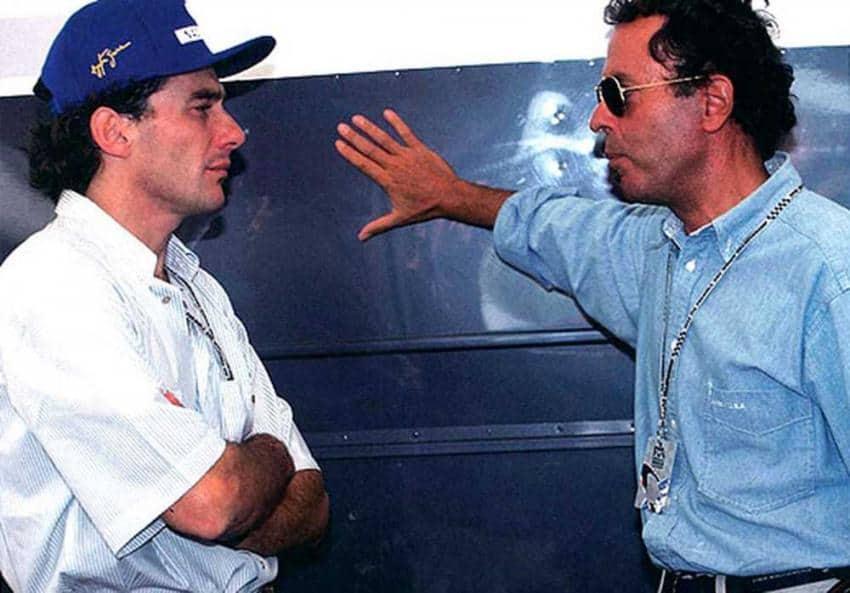 Ayrton Senna e Cesare Fiorio