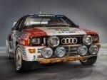 La Audi quattro Gruppo 4 del 1985