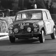 La Mini Cooper S di Paddy Hopkirk al Rally Montecarlo