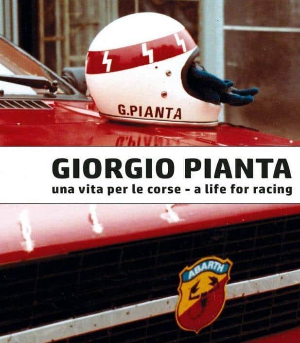 La copertina del libro Giorgio Pianta una vita per le corse