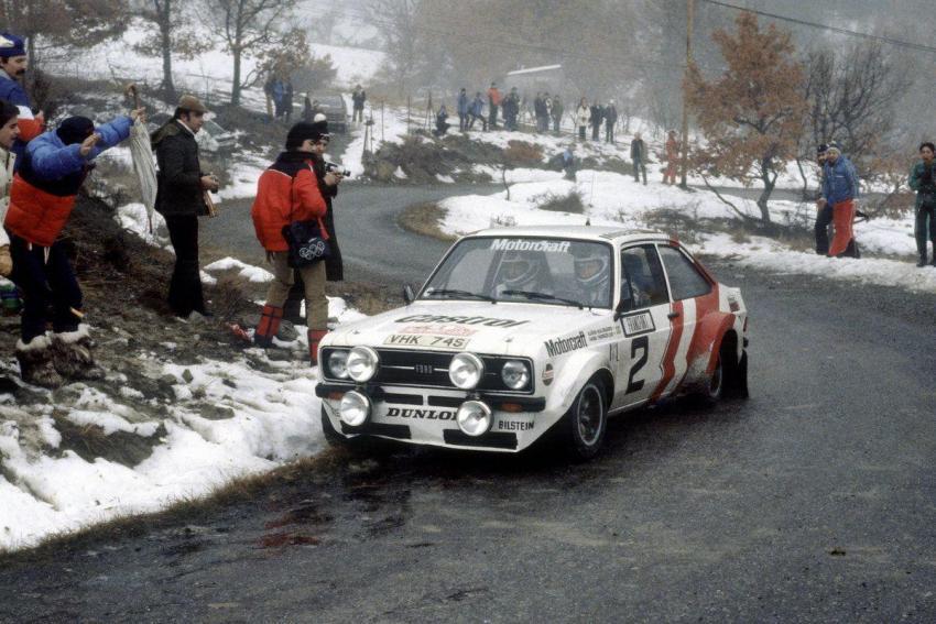 Rally MonteCarlo 1979, Bjorn Waldegaard è secondo assoluto