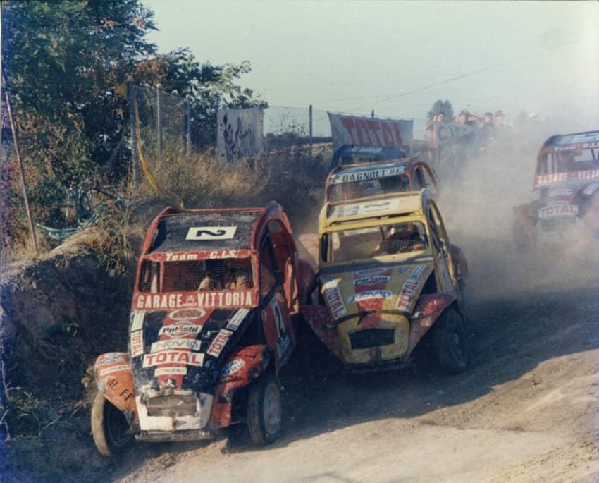 Un'immagine del Campionato Italiano 2CV-Dyane Cross