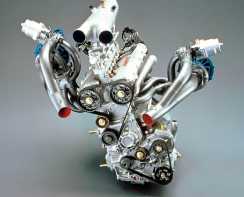 Il motore della Lancia ECV2