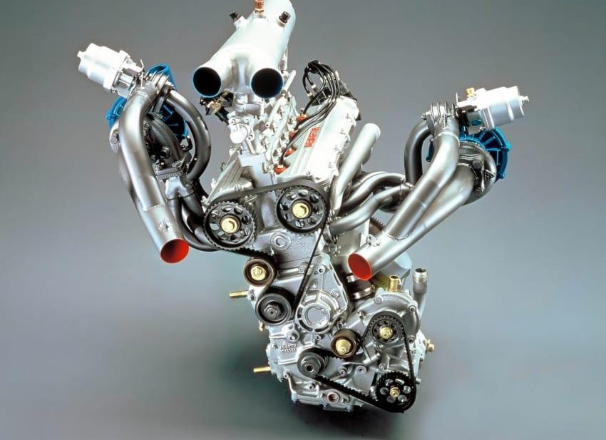 Il motore Triflux della Lancia ECV2 Gruppo S da rally