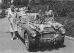 La Moss e la Wisdom all'Alpine Rally 1960