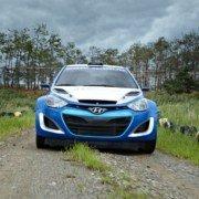 La prima versione della Hyundai i20 WRC