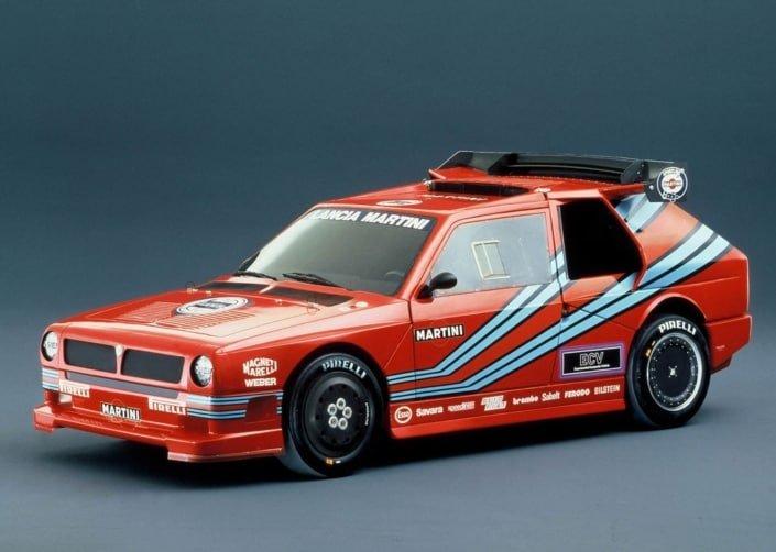 La Lancia ECV1, vettura del Gruppo S