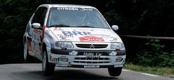Brunello-Amadori al Marca Trevigiana 1998, prova del Trofeo Saxo Rally