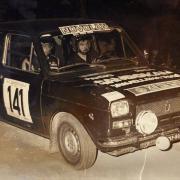 Carlo Ghielmi e Mauro Nosotti al Rally Valli Ossolane 1976