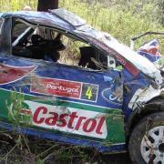 Il terribile incidente di Jari-Matti Latvala al Rally del Portogallo 2009