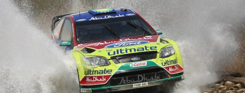 Jari Matti Latvala al Rally del Portogallo 2009