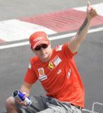 Kimi Raikkonen pilota Ferrari